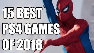 15 BEST PS4 Games of 2018 You Need To Play