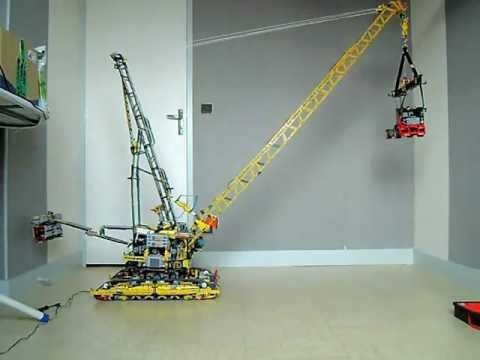 lego technic 8043 the ultimate big crane full rc pegasus. Black Bedroom Furniture Sets. Home Design Ideas