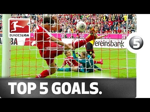 Top 5 Goals -- Farfan, Mkhitaryan and More with Great Strikes