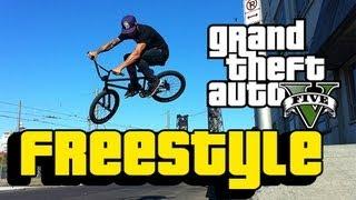 GTA 5: BMX FREESTYLE & STUNT