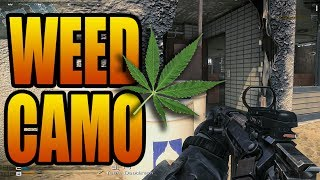 Ghosts Leaked Camos! Weed, Bling, Gold Ore, Barbed Wire