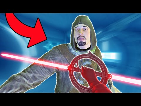 CRAZY NEW HELICOPTER LIGHTSABER!!!   Blade and Sorcery VR Mods
