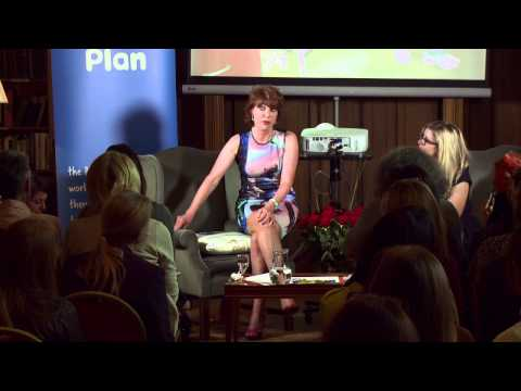 Plan Talks -  Kathy Lette with Emma Barnett at the University Women's Club, London