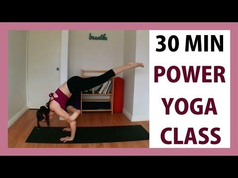 Int/Adv Power Yoga Class - Full Body Workout