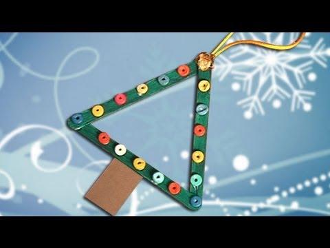 Rbol de navidad manualidad facil para ni os decoraci n - Manualidad ninos navidad ...