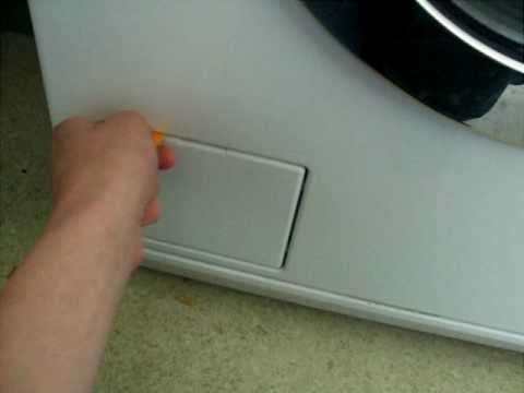 How To Open The Door To A Miele Washing Machine With No