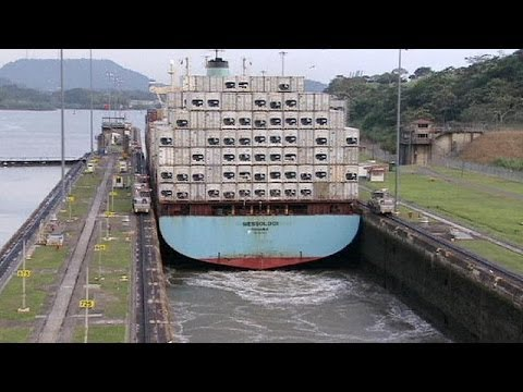 Panama Canal expansion project resumes after work stoppage