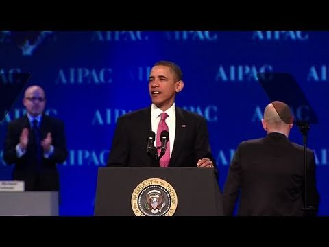 President Obama at 2011 AIPAC Policy Conference