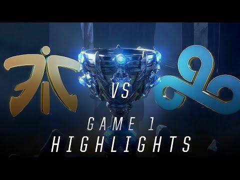 FNC vs C9 - Worlds Semifinal Match Highlights (2018)
