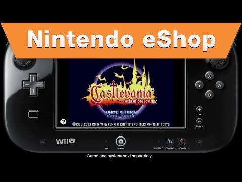 Nintendo eShop - Castlevania: Aria of Sorrow on the Wii U Virtual Console