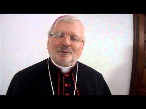 Saludo del nuevo Nuncio Apostólico en Venezuela, Mons. Aldo Giordano.