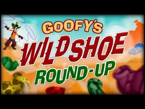 GOOFY'S Wild Shoe Rund-Up | Disney Games / HD