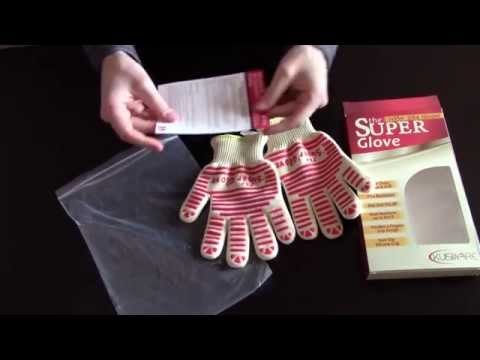 Kuisiware Heat Resistant Cooking Gloves - Unboxing Video Review