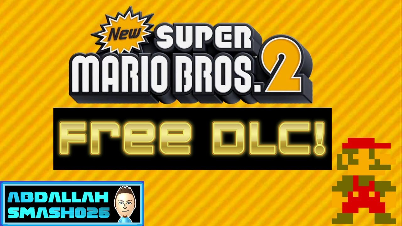 new super mario bros 2 dlc how to download