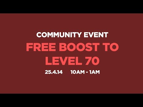 Diablo 3 - Free Boost to Level 70