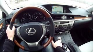 2014 Lexus ES 350 WR TV POV Test Drive