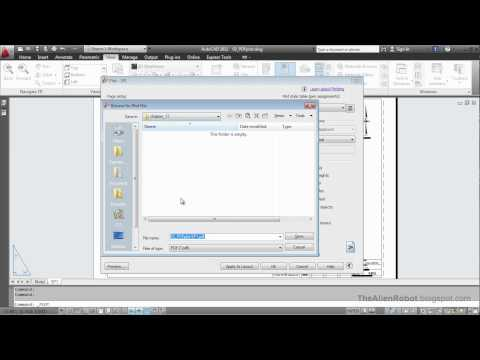 AutoCAD 2012 Introduction Training-1702 Plotting to pdf