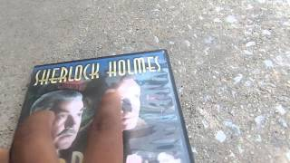 Sherlock Holmes Movie Collection DVD Review