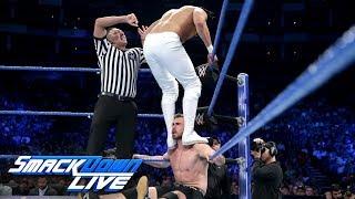 """Andrade """"Cien"""" Almas makes his debut: SmackDown LIVE, May 15, 2018"""