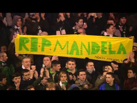 Fir Park remembers Nelson Mandela