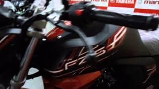 #Bikes@Dinos: Yamaha FZ-S FI Version 2.0 2014 Walkaround