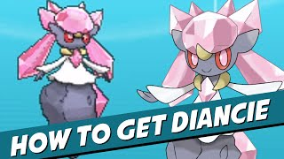 How To GET DIANCIE In Pokemon X & Y! (UPDATED! TRADEABLE