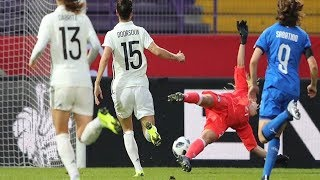 Highlights: Germania-Italia 5-2 - Femminile (10 novembre 2018)