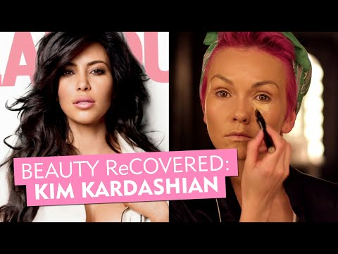 Kim Kardashian's 2011 Smoky Eye--Glamour's Beauty ReCovered with Kandee Johnson--Makeup Tricks