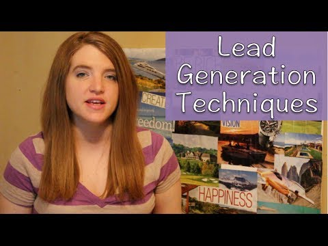 Lead Generation Techniques For Your Network Marketing Business