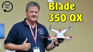 Flying The Blade 350 QX At Horizon Hobby On The 2013 RC