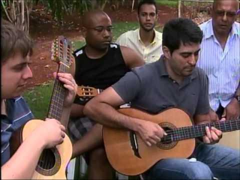 Escola de Música Paulo Santana -- Roda de Viola -  Caminhos do Campo - Rede Globo - 28/10/2012