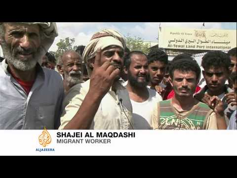 Yemeni workers angry over Saudi deportation
