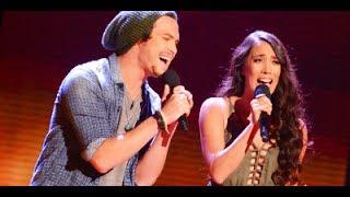 "Alex & Sierra ""Give Me Love"" Live Week 2 The X Factor"