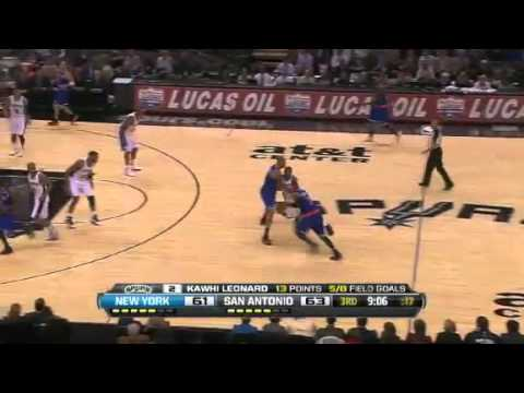 New York Knicks vs San Antonio Spurs (Highlights) November 15, 2012