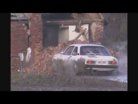 House Demolition by a Rally Car