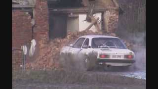 [House Demolition by a Rally Car] Video
