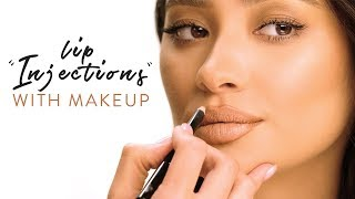 """""""Lip Injections"""" with Makeup 
