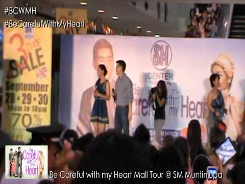 Be Careful with my Heart Mall Tour @ SM Muntinlupa - Theme song with Cast