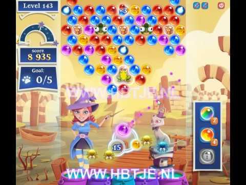 Bubble Witch Saga 2 level 143