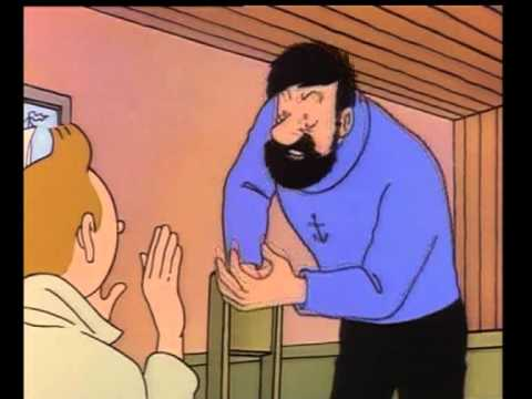 Tintin: Secret of the Unicorn - 90s Cartoon version of the full trailer!