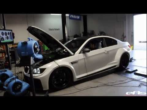 eas | 2011 Widebody VF620 Supercharged BMW M3 Dyno