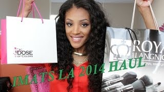 Missy Lynn – IMATS LA 2014 BEAUTY HAUL