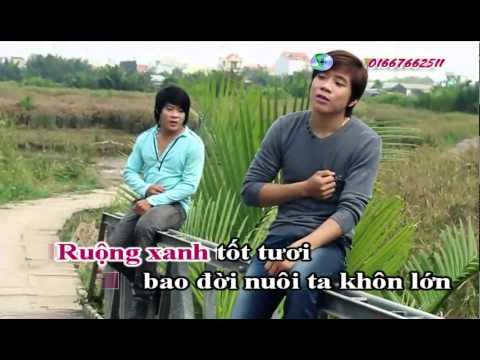 [karaoke] Miền tây quê tôi (full beat) HD 1080p