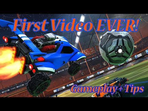 My First Video! Rocket League Gameplay + Tips