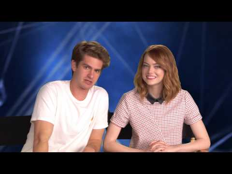 Andrew Garfield and Emma Stone Telstra Google+ Hangout Invitation - The Amazing Spider-Man 2