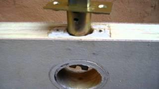 Reparar una puerta de madera que roza, no cierra (1)