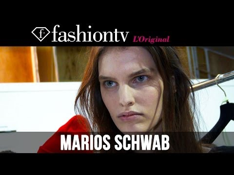 Marios Schwab Fall/Winter 2014-15 Backstage | London Fashion Week LFW | FashionTV