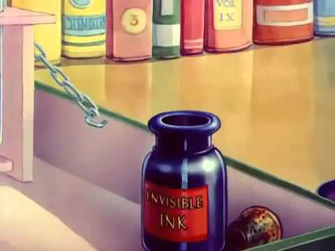 Tom And Jerry Cartoon | The Invisible Mouse