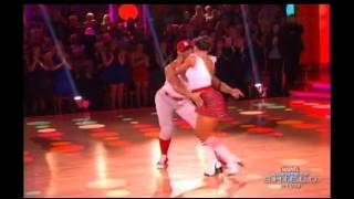 Corbin Bleu and Karina Smirnoff dance Jive - DWTS Season 17 Week 2