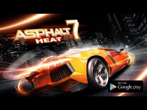 Asphalt 7 heat на андроид скачать